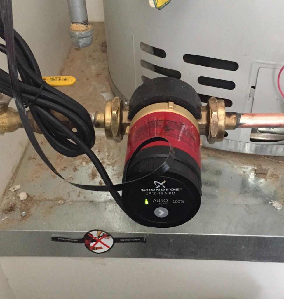 recirculation pumps